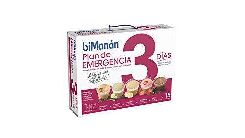 biManán - beSLIM - Sustitutivos para Adelgazar - Plan de Emergencia 3 días - 15 batidos 660 gr