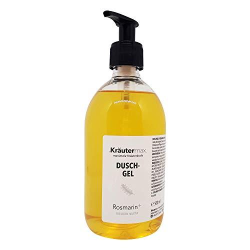 Rosmarin Duschgel auch als Handseife und Seife Flüssig mit Öl Extrakt 1 x 500 ml