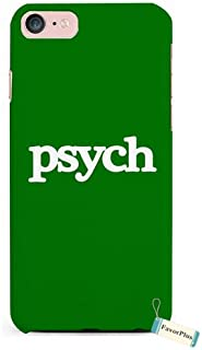 FavorPlus Psych Green Funny Quotes Durable iPhone Apple 3D Case Cover