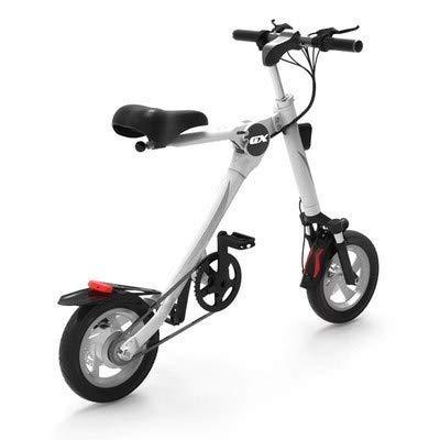 WXDP Patineta Cruiser Pro,36V Mini Bicicleta Eléctrica Plegable para Adultos Batería de...