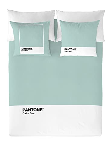 NATURALS Pantone Funda nórdica Calm Sea Cama 180