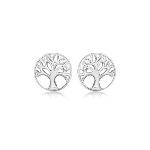 Tuscany Silver 8.55.8879 Oorstekers voor dames, zilver