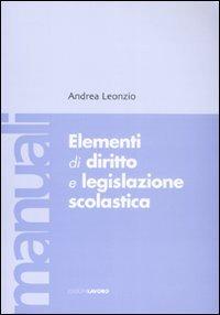 Elementi di diritto e legislazione scolastica