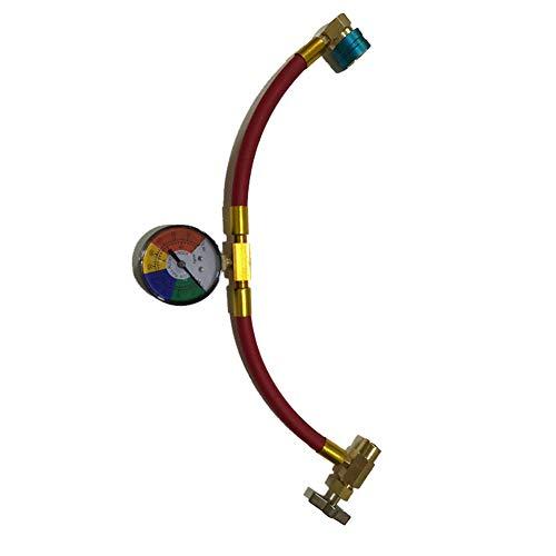 Cutogain Auto FJC # 6846 R1234YF A/C Service Refragrant Schlauch mit Koppler Gauge