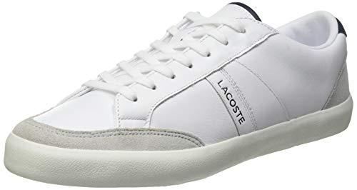 Lacoste Herren COUPOLE 0120 1 CMA Sneaker, Weiß Wht Lt Gry, 42 EU
