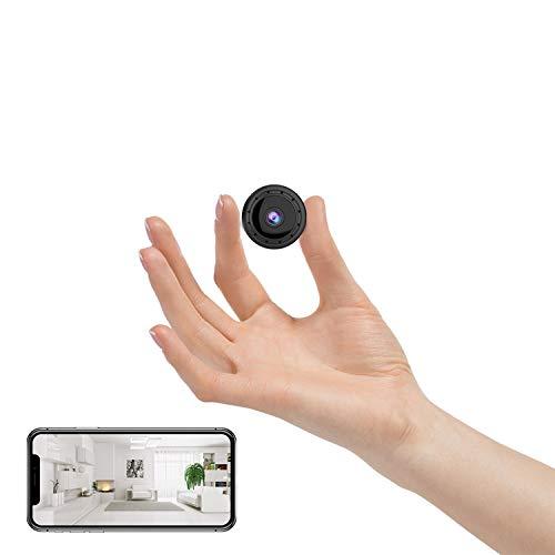 Hidden Camera WiFi Spy Camera Wireless Mini Remote View Nanny Cam Motion...