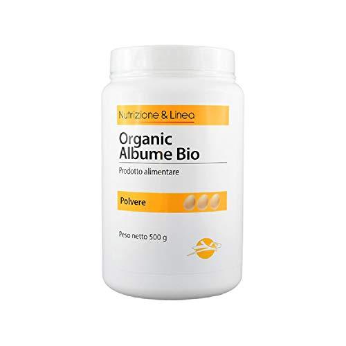 Albume In Polvere - Prodotto alimentare da agricoltura biologica, 500 g