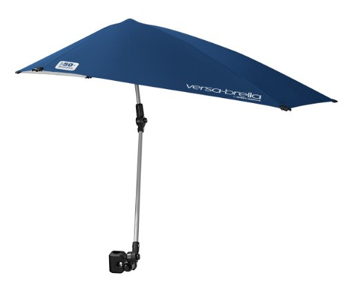 Sport-Brella Versa-Brella 4-Way Swiveling Sun Umbrella (Midnight Blue)