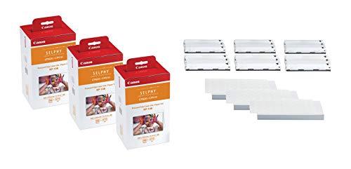 Canon Originale RP-108 Dreier-Pack Cartuccia stampanten Cyan, Magenta, Gelb/Papiricambio 100x148 mm (8568B001)