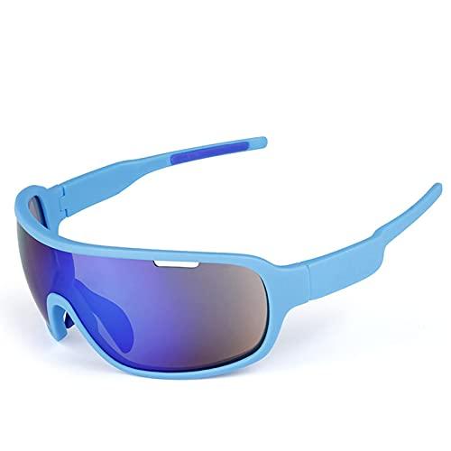 HGJINFANF Gafas de Sol de Bicicleta Anti-Ultravioleta, Gafas de Sol polarizadas Masculinas y Femeninas, Gafas de Sol Deportivas al Aire Libre