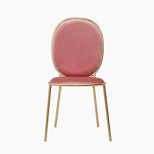 Tyueliang-Home Eetkamerstoel Eetstoel Moderne Eenvoudige Make-up Terug Stoel Europese Dressing Manicure Stoel IKEA Cafe voor Restaurant Lounge