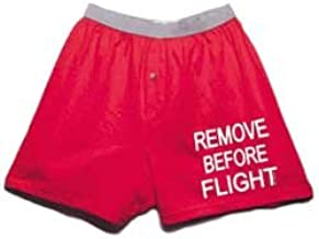 Born Aviation Men's Remove Before Flight Boxer Shorts