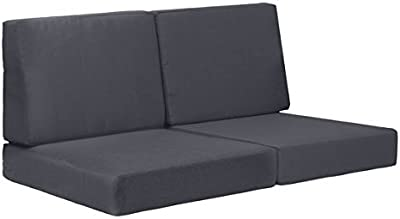 Zuo Cosmopolitan Sofa Cushion, Dark Gray