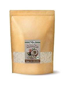 Biojoy Chips de Coco deshidratado orgánicos, sin azúcar y sin tostar (1 kg)