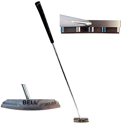 Bell Putters Non/No Offset Golf Putter 360g Polish Chrome Finish...