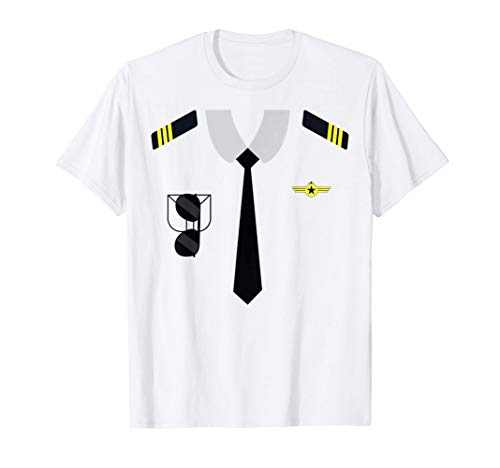 Uniforme Comandante Avin Disfraz Carnaval Hombre Mujer Nio Camiseta