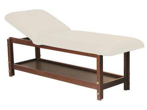 Stationäre Holz-Massageliege, Holz, 190 x 70 cm, 2 Zonen