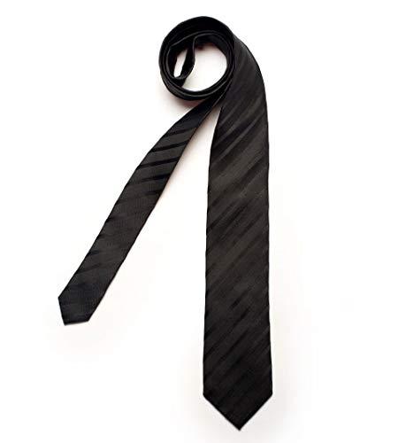 DIGEL Krawatte Galo in Schwarz gestreift, Größe: