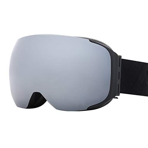 NENGGE Adult Ski Goggles, Dual-Layer Grote Sferische Wide View Snowboard Goggles, Professionele Verwijderbare Magnetische Lens Anti-mist Winter Sports Eyewear