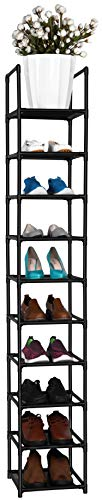 fiducial home 10 Tiers Shoe Rack Space Saving Vertical...