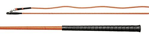 Döbert Bicz do lonżowania rozmiar 200, kolor czerwony/pomarańczowy