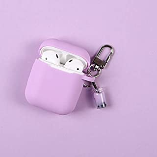 Charms in Electronics 2019, Silicone Earphone Case for Airpods 1/2 Bubble Milk Tea Drink Headphone - Apple Bunny, Whaling Covers, Tea Patterns, Antique Glass Battery Box, Hot Pod