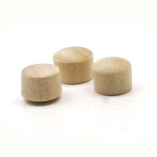 mylittlewoodshop–Paquete de 12–Roundhead enchufe botón–1/2pulgadas en diámetro pendientes de madera (ww-br0500–12)