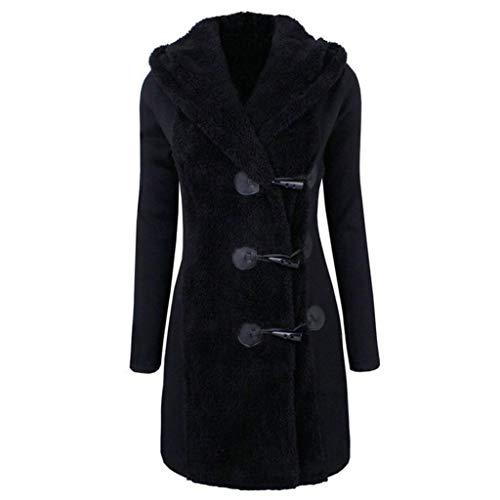 Płaszcz damski damski wełniany elegancki długi płaszcz jesień zima wygodne rozmiary pogrubiona parka odzież wierzchnia ciepły płaszcz z kapturem wąski wiatrówka kurtka z kapturem płaszcz zimowy