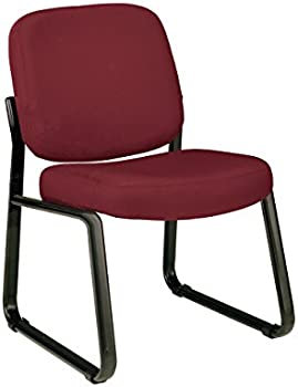 OFM Core Collection Armless Fabric Guest and Reception Chair