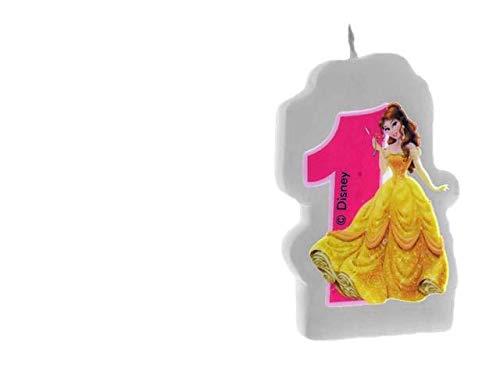 82669, Verjaardagskaars Disney Prinsessen Nunemo 1