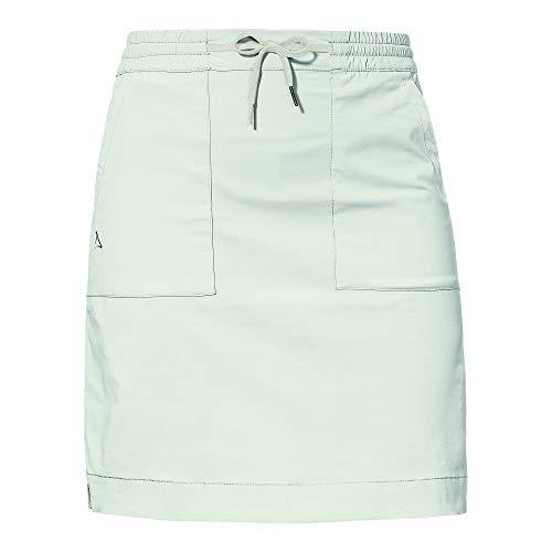 Schöffel Damen Skirt Gizeh L Rock, Pumice Stone, 42