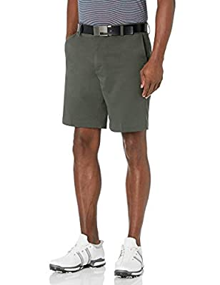 Amazon Essentials Men's Standard Classic-Fit Stretch Golf Short, Olive, 32