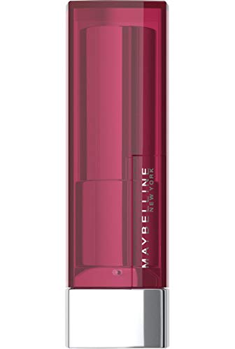Maybelline New York Make-Up Lippenstift Color Sensational Blush Nudes Lipstick Pink Fling / Kräftiges Rosa mit pflegender Wirkung, 1 x 5 g
