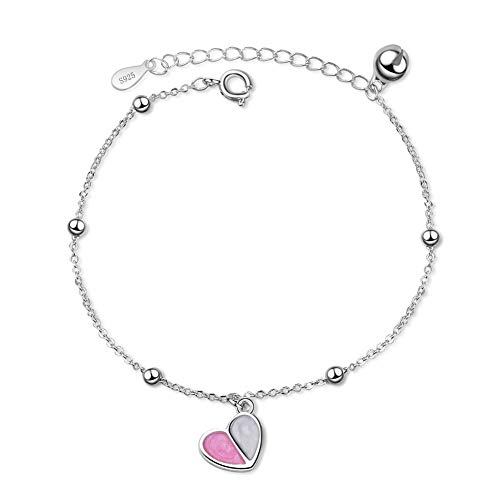 xiamenchangketongmaoyi Jewellery Hand Jewelry Ankle Bracelets for Women Creative Bracelet Chain Bracelet Best Friend Bracelet Cheap Bracelets for Women Pink