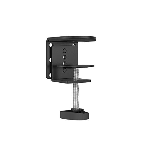 WALI C-Clamp Base Stand Mounting Accessory for WALI Monitor Mount Workstation System (C-CLAMP), Black