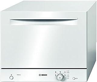 Bosch SKS51E22EU Encimera 6cubiertos A+ lavavajilla - Lavavajillas (Encimera, Blanco, Blanco, Botones, Giratorio, LED, 1,7 m)