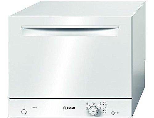 Lave vaisselle mini Bosch SKS51E22EU - Mini lave vaisselle - Classe A+ / 48 decibels - 6 couverts - Blanc bandeau : Blanc