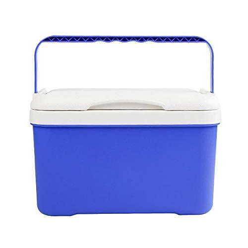 AEROBATICS Passive Kühlbox,Fassungsvermögen Mobile Passiv Kühlbox mit Tragegriff Isolierbox Warmhaltebox Kühlschrank Cooler für das Auto und zum Camping