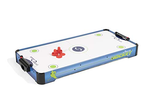 Sport Squad HX40 40 inch Table Top Air Hockey Table for Kids and Adults - Electric Motor Fan - Includes 2 Pushers and 2 Air Hockey Pucks -...