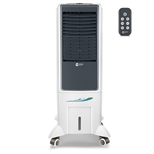 Orient Electric Arista CT2602HR 26 litres Personal Air Cooler with Remote (White)