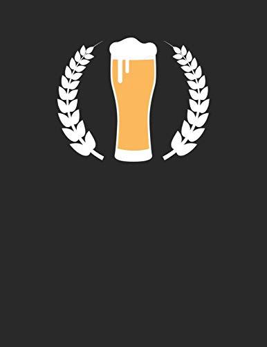 Bier Tasting Buch: Dein persönliches Verkostungsbuch zum selber ausfüllen ♦ für über 100 verschiedene Bier Sorten, Craft Beer, Pils, Pale Ale oder IPA ... A4+ Format ♦ Motiv: Weizenbier