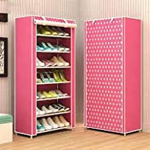 ELECTROPRIME Multi Utility Shoe Rack Organizer Easy Installation Stand for Shoes Capacity Pair Shoes Rack 8 Layer