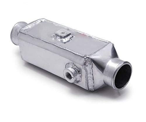 Wassergekühlter Ladeluftkühler Alu 345x135x105mm Wasser LLK Turbo Intercooler