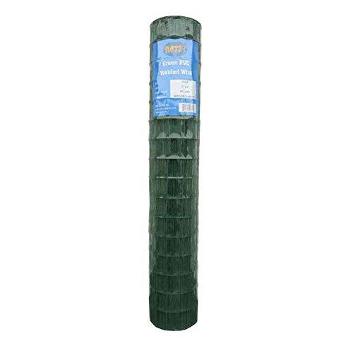 MTB Green PVC Welded Wire Mesh Garden Economy Fence 48' x50'- 2'x3' 16GA
