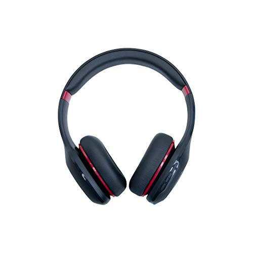 Mi Super Bass On-Ear Wireless Headphones with Mic, (Black & Red)