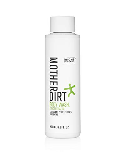 Mother Dirt Body Wash, Microbiome Friendly, Plant-Based, Preservative Free, 6.8 fl. oz.