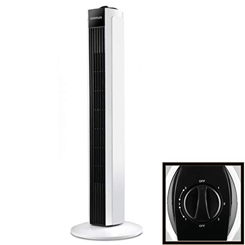 G3Ferrari Tramontana–Ventilator (schwarz, weiß, 50W, 220–240, AC, 260mm, 260mm)