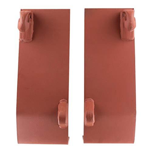 Koppelplatten | doppelt gekantet | grundiert | Euroaufnahme | Euro Aufnahme | Frontlader | Ersatzteil | Traktor | Trecker | anschweißen