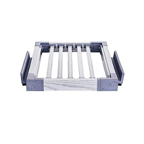 EURYTKS Colgador de Armario, cajón de Aluminio extraíble para Pantalones, Armario Extensible, Bufanda para Guardar Vaqueros, Deslizante, tamaño: (45-60) x45cm, (60-85) x45cm, (85-120) x45cm