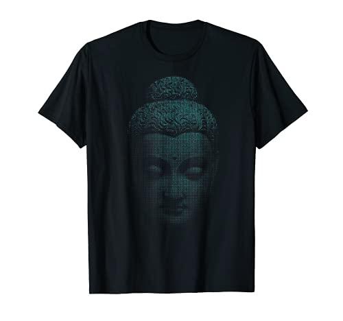 Buddha T-Shirt Buddhist Gift Gautama Art Tee Buddhism Tshirt
